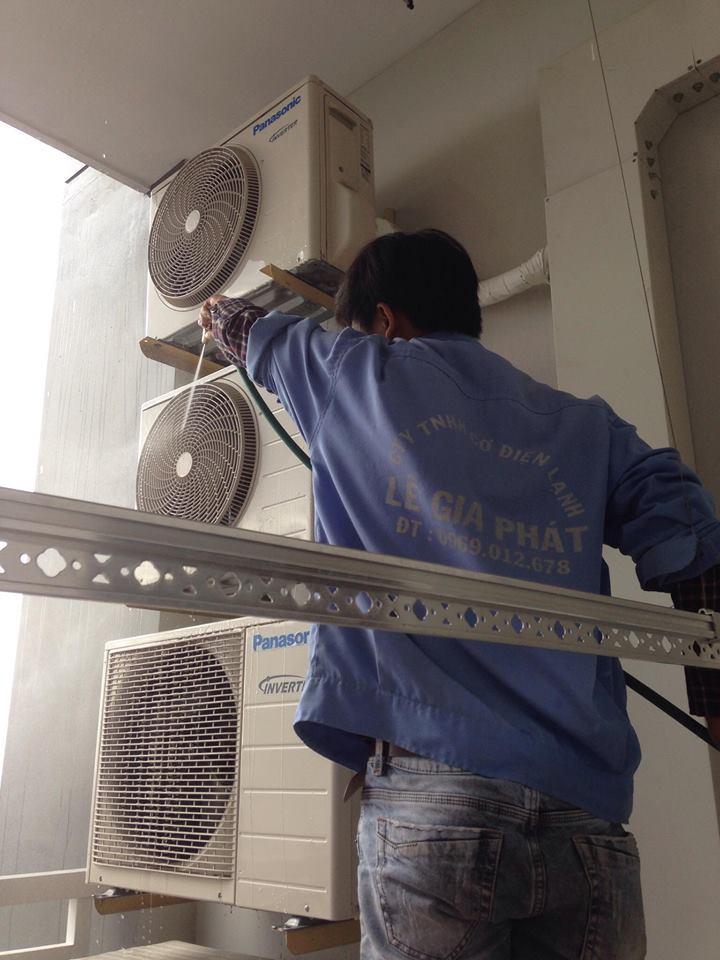 Lắp đặt máy lạnh tại Bình Dương