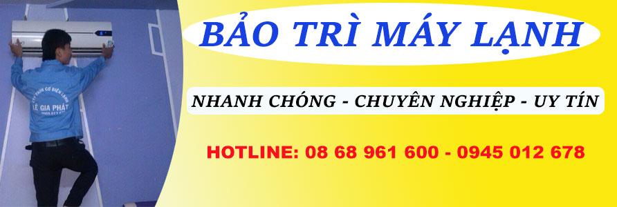 Đặt lịch online bảo trì máy lạnh tại TPHCM