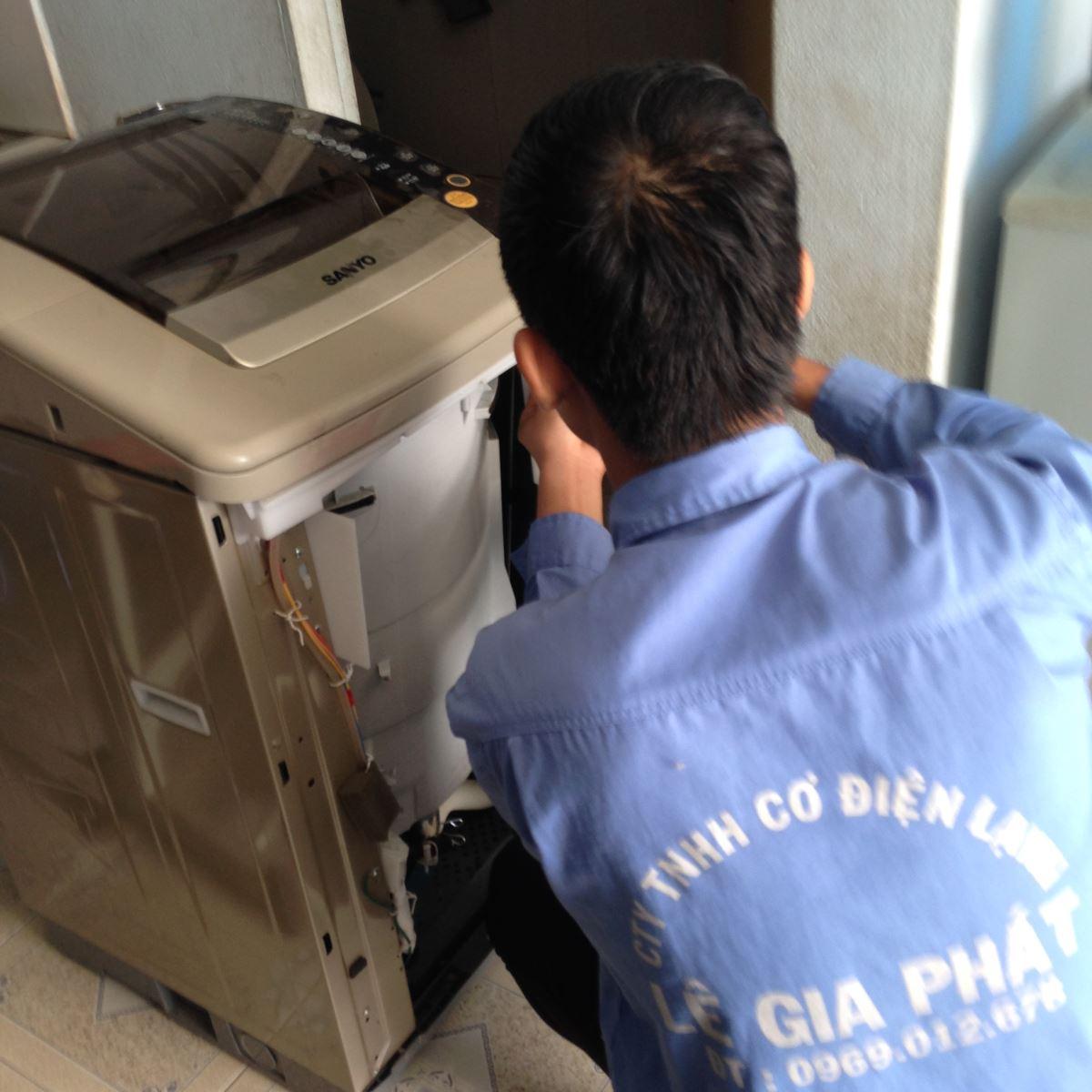 Sửa máy giặt tại Dĩ An Bình Dương
