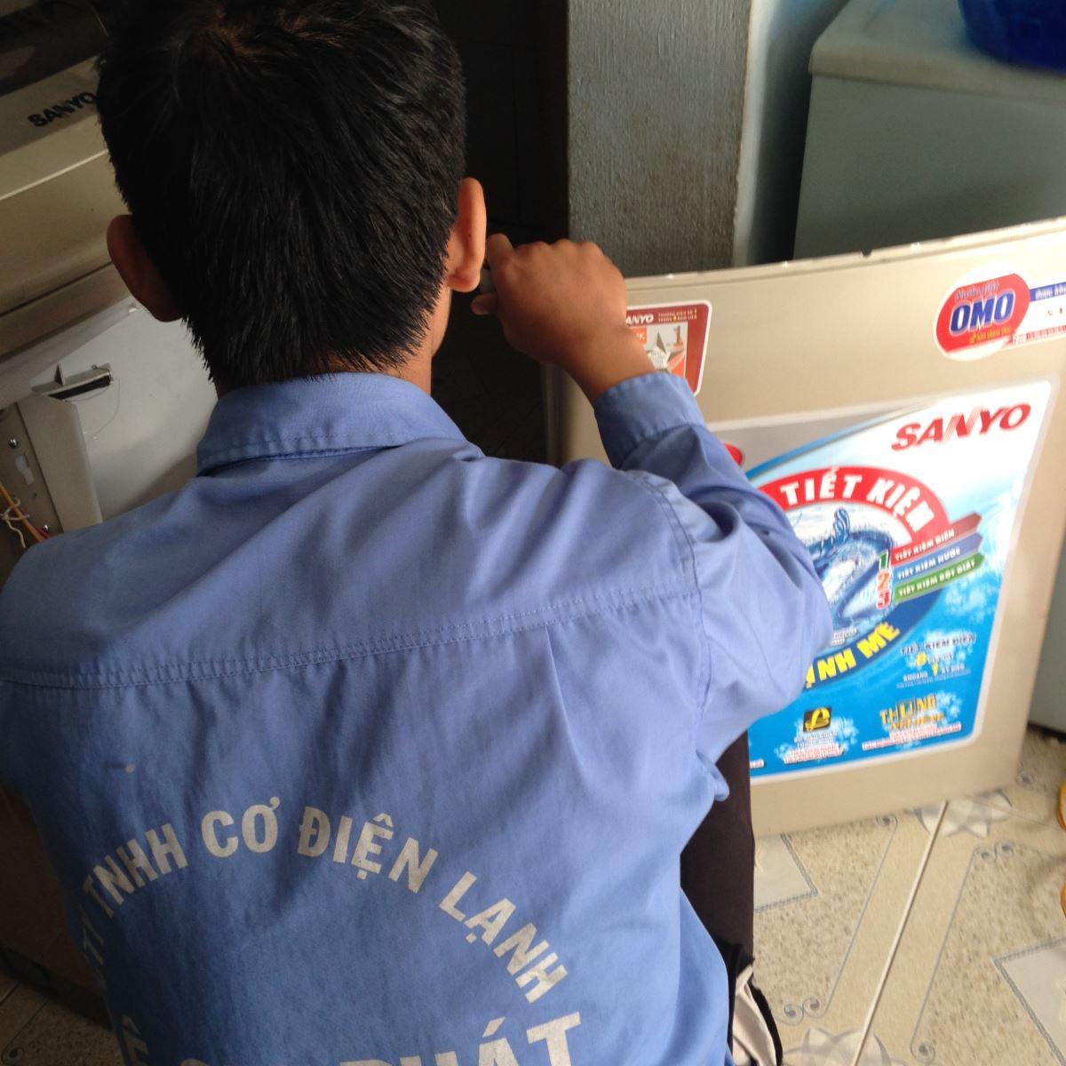 Sửa máy giặt tại Gò Vấp