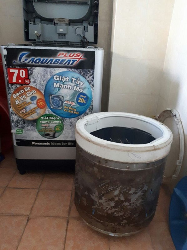 Thợ vệ sinh máy giặt quận 9