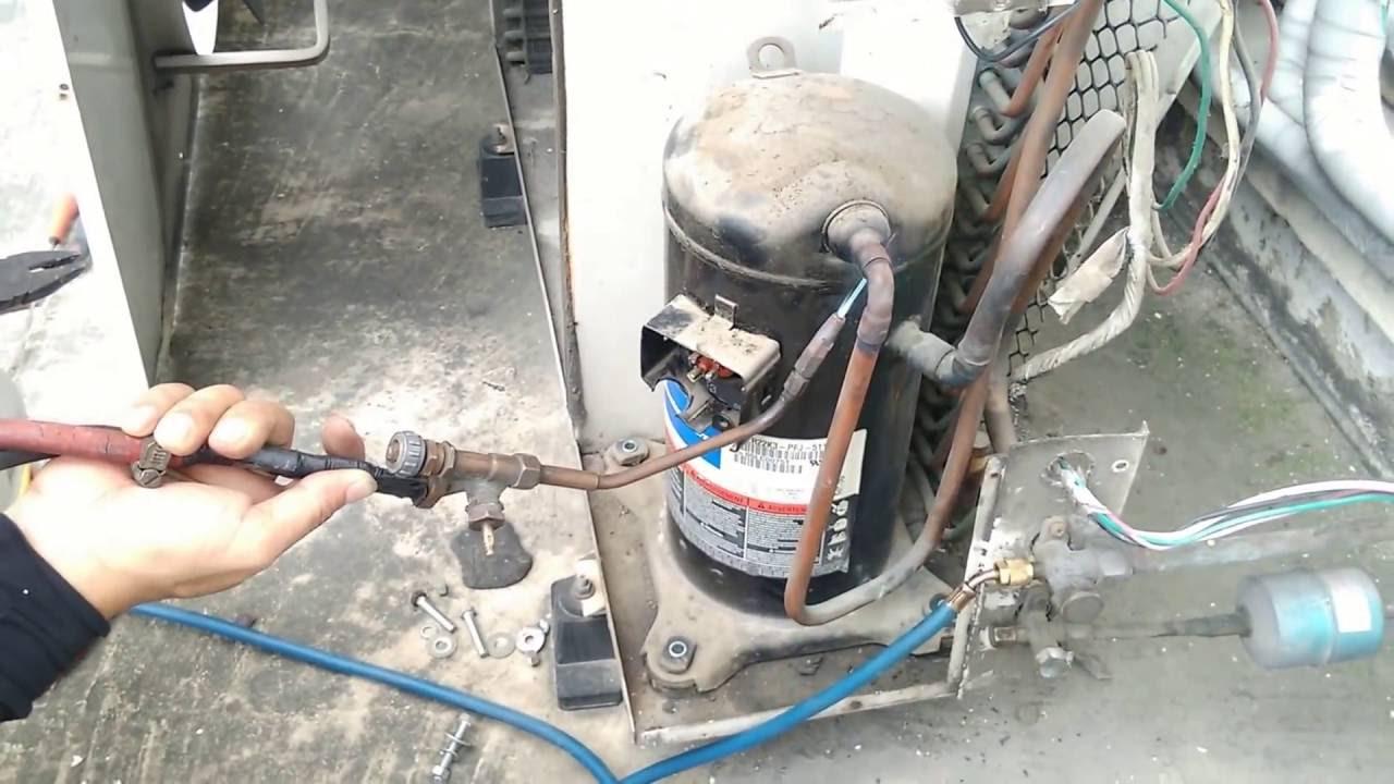 Sửa chữa máy lạnh bị rò rỉ gas tại HCM