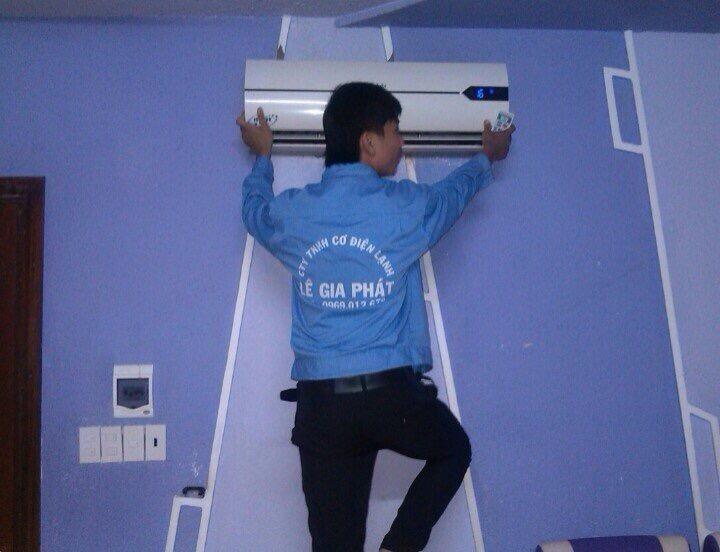 lắp đặt máy lạnh thẩm mỹ cao, an toàn