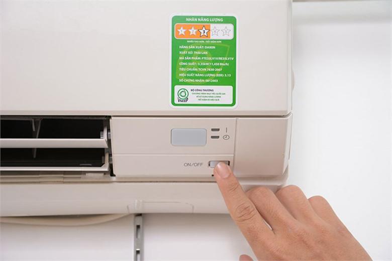 Nút nguồn máy lạnh Toshiba