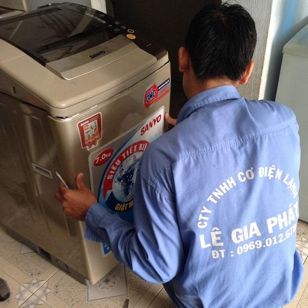 vệ sinh máy giặt quận Gò Vấp 1