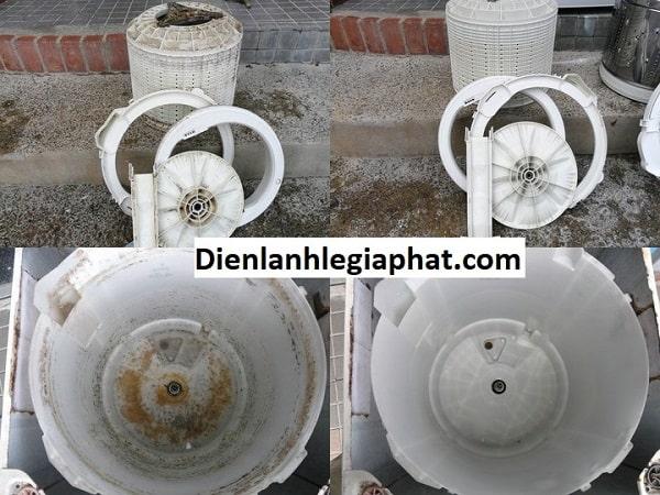 vệ sinh máy giặt quận Thủ Đức 4